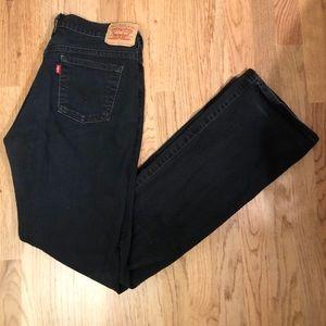 Women's 6L Levi's bootcut jeans